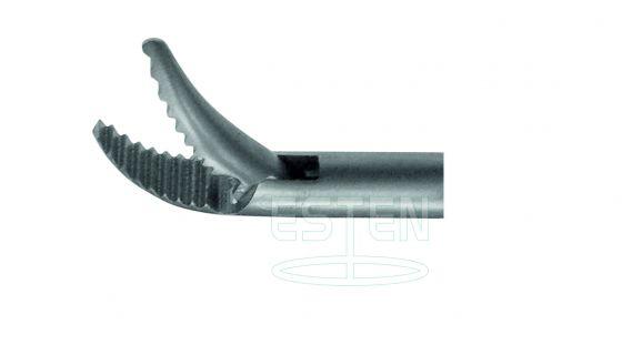Зажим типа Граспер (вертикально изогнутый однобраншевый d=5мм)