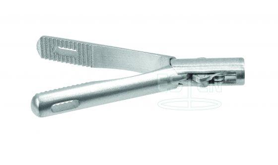 Зажим окончатый (с окном на 1/4 длины бранш d=5мм)
