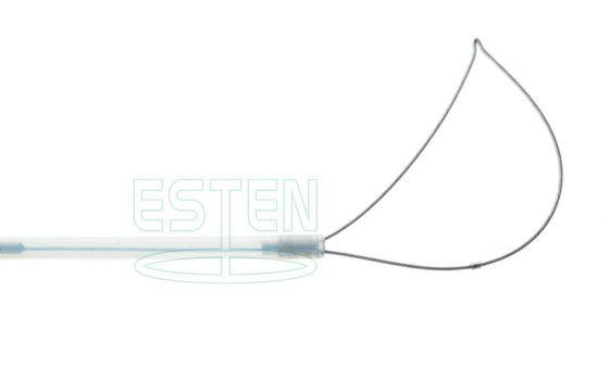 Петля ассиметричная для полипэктомии стерильная d=1,8мм (L=1900мм, размер раскрытия 25мм)