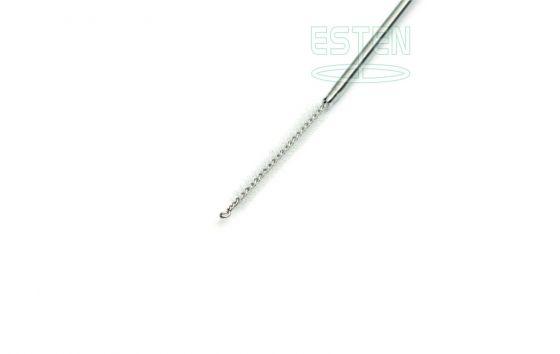 Щетка для чистки инструментов (жесткая, L=500 мм, d=2,5 мм, для канала 2,0-2,4 мм)