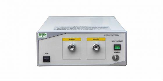 Осветитель светодиодный эндоскопический (двухканальный, с каналом инсуфляции)