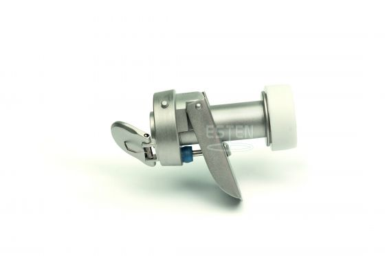 Троакар универсальный с форточным клапаном 12 мм (с ручным управлением и винтовой фиксацией)